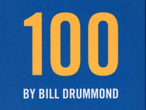 "Front cover of Bill Drummond's ""100"""