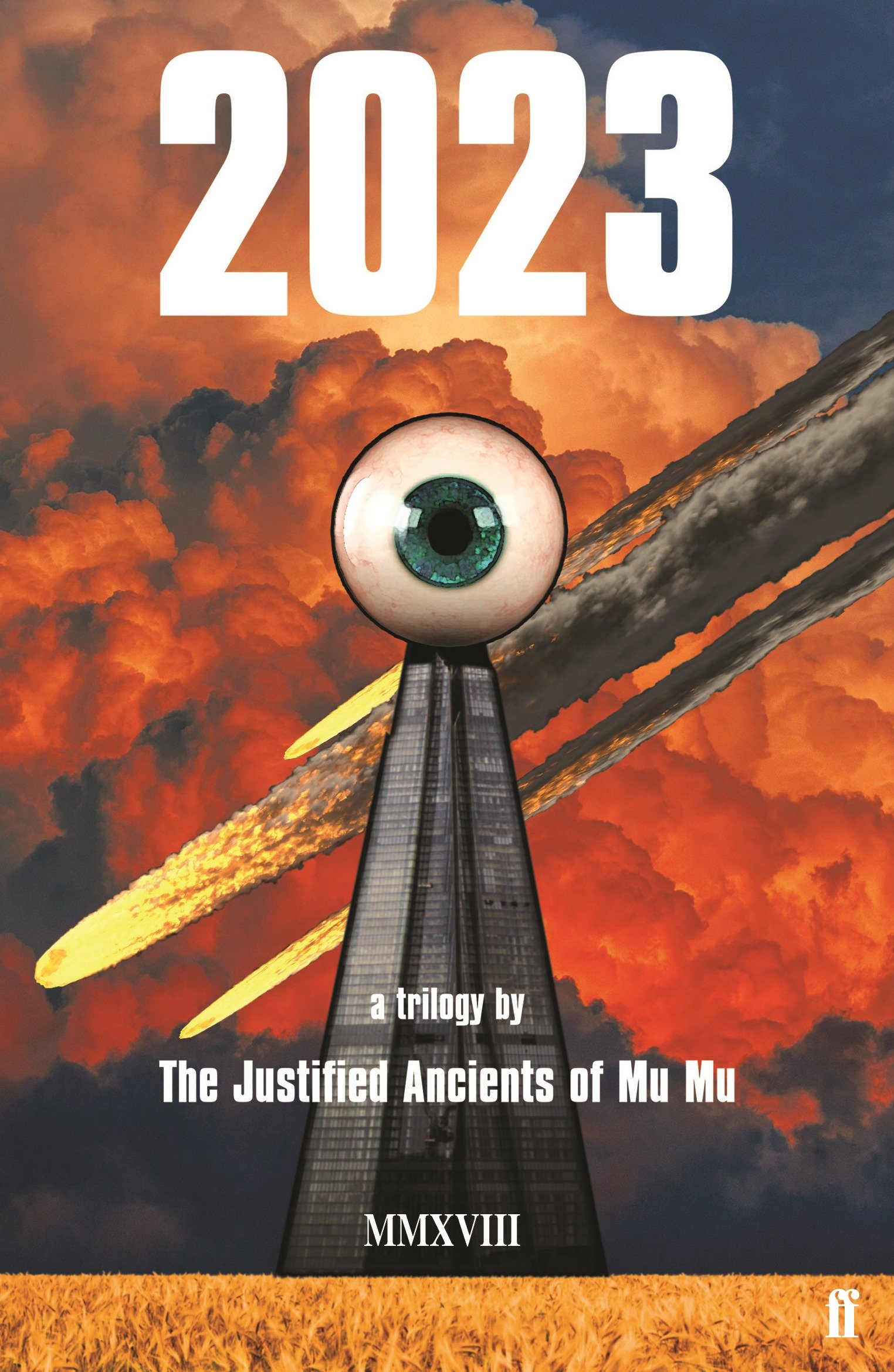 "Front cover of The Justified Ancients Of Mu Mu's ""2023"" (Paperback Edition)"