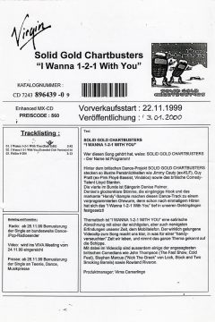 I Wanna 1-2-1 With You (German Press Release)