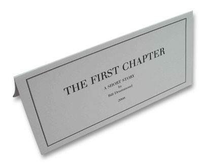 "HQ image of Penkiln Burn pamphlet no. 29, ""The First Chapter"" by Bill Drummond"